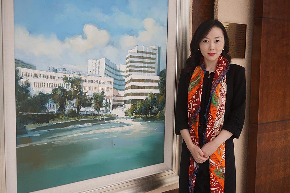 高端医疗的管理精英 -专访上海交大-法国 KEDGE商学院国际MBA校友王丽娜