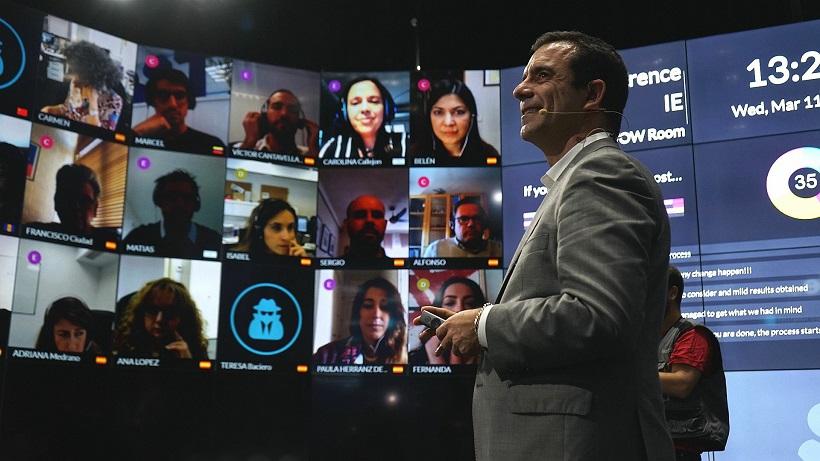 疫情来了,MBA没法开课?且看IE商学院在线教育大法宝 - WOW ROOM虚拟教室案例分享