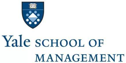 美国耶鲁大学管理学院MBA