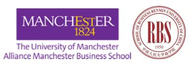 中国人民大学-英国曼彻斯特大学全球在职MBA